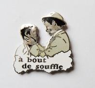 A Bout De Souffe Godard Belmondo Seberg Film Cinéma Signé Corner - EB - Badges