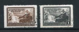 RUSSIE- Y&T N°1376 Et 1377- Oblitérés - 1923-1991 URSS