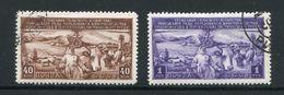 RUSSIE- Y&T N°1394 Et 1395- Oblitérés - 1923-1991 URSS
