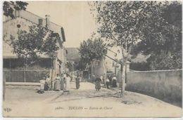83.  TOULON     QUARTIER CLARET. ENTREE - Toulon