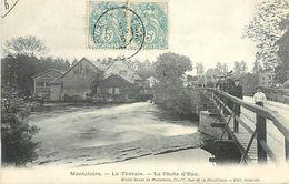 PIE 17-FL-8186 : MONTATAIRE. LA CHUTE D'EAU DU THERAIN. MOULIN A EAU? - Montataire