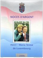 Luxembourg 2006 Mi. Block 20 MNH, Henri, Grand Duke Of Luxembourg, And Grand Duchess Maria Teresa - Blocchi & Foglietti