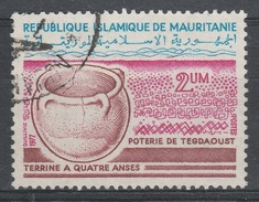 Mauritania, Pottery, 2 Um, 1977, VFU - Mauritania (1960-...)
