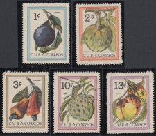1963.87 CUBA 1963 MNH. Ed.1019-23. FRUTAS CUBANAS. FRUITS. - Cuba