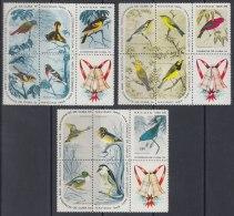 1965.102 CUBA 1965 MNH. Ed.1256-70. NAVIDAD CHRISTMAS BIRD AVES PAJAROS. - Cuba