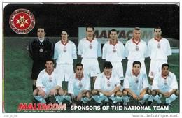Malta -  MAL-153 Malta National Football Team - Fussball - Malta