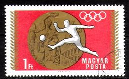 HONGRIE   N° 2022  Oblitere   JO 1972      Football  Soccer   Fussball - Fussball