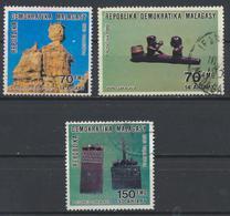 °°° MADAGASCAR - Y&T N°943/45 - 1989 °°° - Madagascar (1960-...)