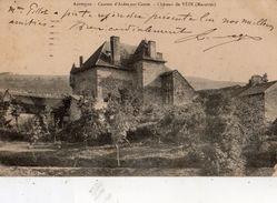 CANTON D'ARDES-SUR-COUZE CHATEAU DE VEZE (MAZOIRES) - France
