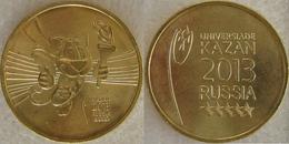 8 RUSSIA Coins Set 2x10 ROUBLES Universiade Kazan 2013 (2 Coins) - Russia