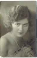 Foto/Photo. Portrait D'Art R.Marchand, Bruxelles. Femme. 1924. - Personnes Anonymes