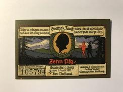 Allemagne Notgeld Schiercke 10 Pfennig - [ 3] 1918-1933 : République De Weimar