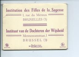 St Josse Ten Noode Joost Ten Node Bruxelles Institution Des Filles De La Sagesse ( Pochette Compléte De 12 Cartes ) - St-Joost-ten-Node - St-Josse-ten-Noode