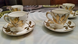 "Royale Kenwood Porseleinen Thee & Koffiekopjes ""Engels Empire"" - Ceramics & Pottery"