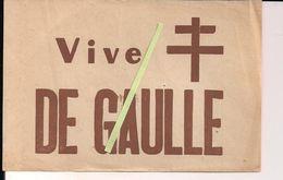 De Gaulle Resistance Ffi Libération Papillon Vive De Gaulle  Ww2 1939/1945 2wk - 1939-45