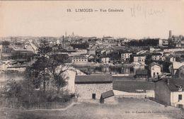 Cp , 87 , LIMOGES , Vue Générale - Limoges