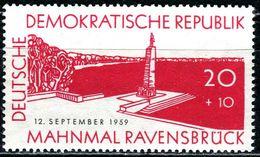 DDR - Michel 720 - ** Postfrisch (C) - 20+10Pf  Einweihung Gedenkstätte Ravensbrück - [6] Oost-Duitsland
