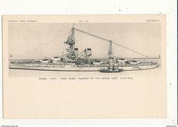 IMPERIAL WAR MUSEUM IRON DUKE FLAGSHIP OF THE GRAND  FLEET 1915 1918 CPA BON ETAT - Guerre