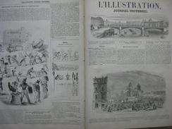 L'ILLUSTRATION N° 118 MEXICO/ UNIFORME INFANTERIE/ ALIENES/ ANIMAUX ECOLE VETERINAIRE 31 Mai 1845 Page 209/210 Histoire - 1800 - 1849