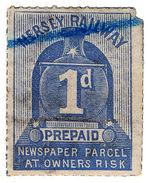 (I.B) Mersey Railway : Newspaper Parcel 1d - 1840-1901 (Victoria)