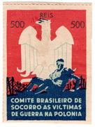 (I.B) Brazil Cinderella : Poland War Victims Fund 500r - Unclassified