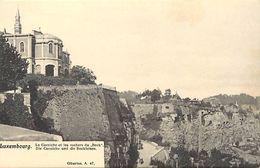 Pays Div-ref J659- Luxembourg - Luxemburg - La Corniche Et Les Rochers Du Bock  - Carte Bon Etat - - Luxemburg - Town