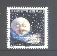 France Autoadhésif Oblitéré N°1325 (Correspondances Planétaires) (cachet Rond) - France