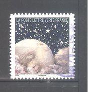 France Autoadhésif Oblitéré N°1334 (Correspondances Planétaires) (cachet Rond) - France