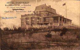 Keerbergen - Hôtel Sans Souci (1933, Uitg. J. Wouters-Van Den Bulck) - Keerbergen