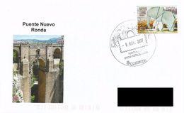 SPAIN. POSTMARK NEW BRIDGE. RONDA 2017 - Marcofilia - EMA ( Maquina De Huellas A Franquear)