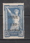 Syria 1924,1V,olympic,olympisch,olympische,olympique,olympicos,olimpici,ovpt Syrie.MH/Ongebruikt(A3446) - Zomer 1924: Parijs