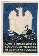 (I.B) Brazil Cinderella : Poland War Victims Fund 2r - Unclassified