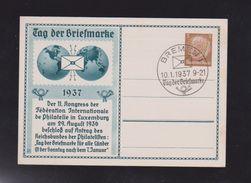 D.R. GZ   PP 122 C34   TAG DER BRIEFMARKE   UNGEBRAUCHT  SST  2 X SCAN - Deutschland