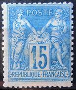 FRANCE              N° 90               NEUF** - 1876-1898 Sage (Type II)