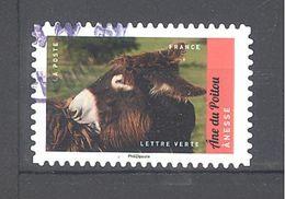 France Autoadhésif Oblitéré N°1388 (Veau, Vache, Cochon, Couvée ...) (cachet Rond) - France