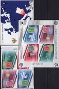 EUROPA 2006 CRNA GORA 108/1B VB,Blocks 2 B+3 Imperf.** 184€ Hojita Ss Blocs Stamps On Stamp Sheets Bf 50 Years CEPT - Montenegro