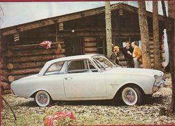 Auto Oldtimer Ford Taunus 17 M Etablissement Gonthier Kontich Reclame Publicite - Otros