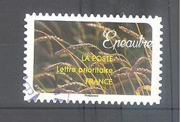 France Autoadhésif Oblitéré (Une Moisson De Céréales - Epeautre) (cachet Rond) - France