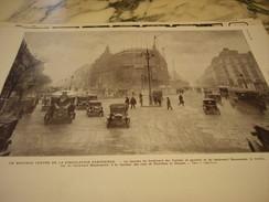 PARIS NOUVEAU CENTRE DE LA CIRCULATION 1927 - Pubblicitari