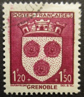 FRANCE Armoirie De Grenoble N°557 Oblitéré - 1941-66 Wapenschilden