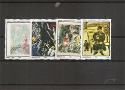 Peintures - Chagall ( 778/781 XXX -MNH- Du Bhoutan) - Art