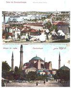 TURQUIE . CONSTANTINOPLE . 2 Cartes Postales Abîmées - Réf. N°5518 - - Turkey