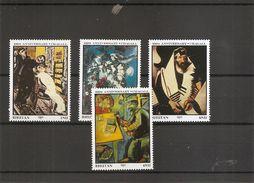 Peintures - Chagall ( 774/777 XXX -MNH- Du Bhoutan) - Arts