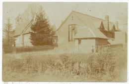 Unidentified Village School And Church - England