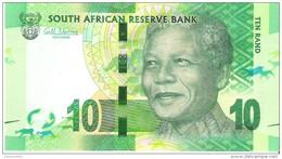 South Africa - Pick 133 - 10 Rand 2012 - Unc - Afrique Du Sud
