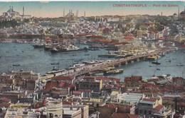 Carte Postale : Constantinople (Turquie)    Pont De Galata   Stampa Milano N° 8086 - Turkey
