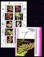 Venezuela 1995 Orchids MNH - Planten