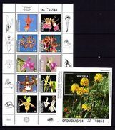 Venezuela 1994 Orchids MNH - Unclassified