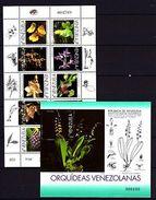 Venezuela 1998 Orchids MNH - Unclassified