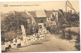 Bouffioulx NA3: Chamborgneaux. Inauguration De La Grotte 1931 - Chatelet